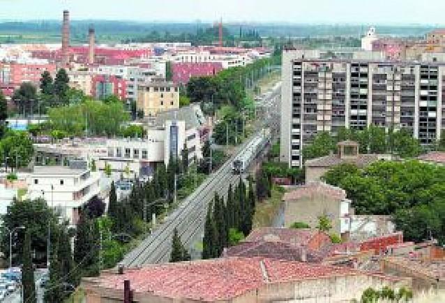 Tudela apuesta por aprovechar la llegada del TAV para eliminar la vía actual del casco urbano