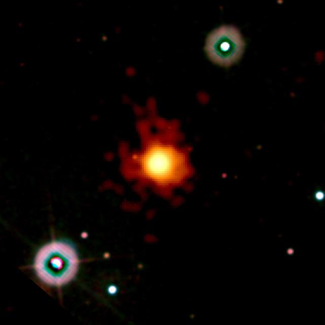 Detectan la explosión cósmica más distante de la Tierra registrada hasta ahora