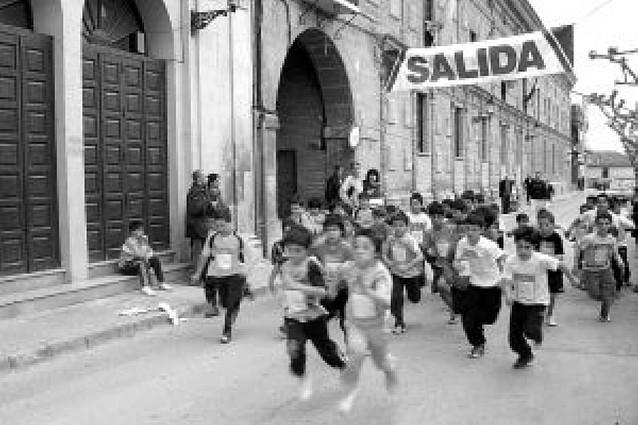 Cross escolar en Fitero