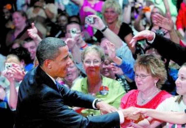 Barack Obama mantiene su tirón popular en sus primeros cien días