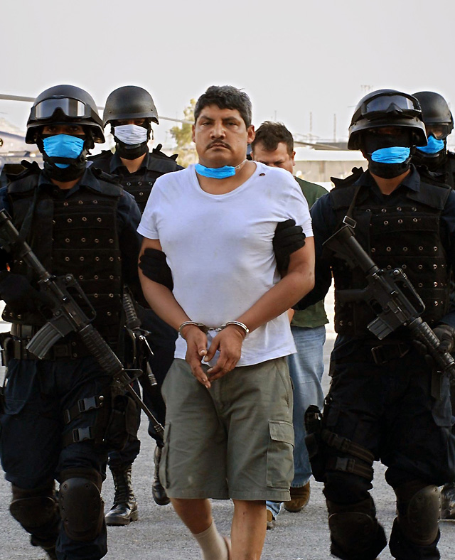 La Policía mexicana detiene a un importante narcotraficante
