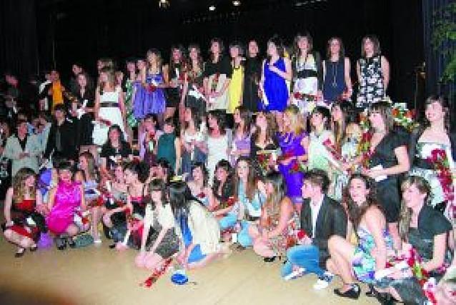 Graduación de alumnos de Bachiller