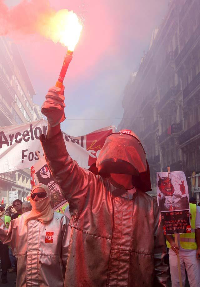 Los sindicatos celebran hoy en Navarra el Día del Trabajo con la vista puesta en la crisis económica