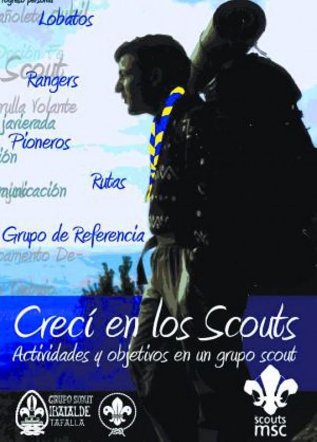 """El Grupo Ibaialde de Tafalla edita el libro """"Crecí en los scouts"""" en su 25 aniversario"""
