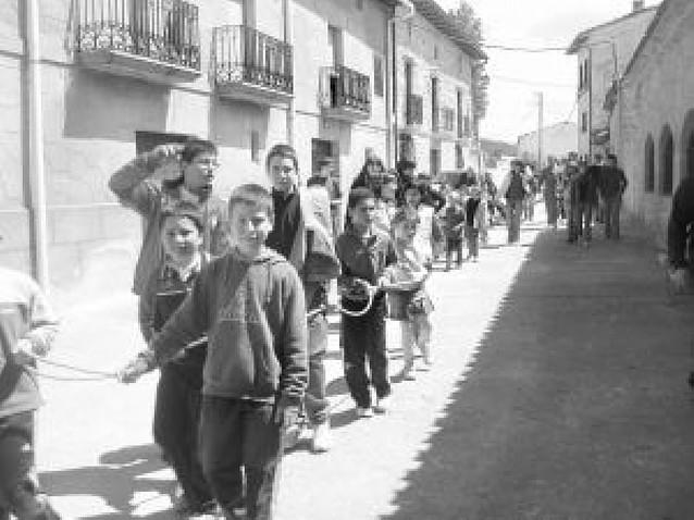 """Los """"mayos"""" de Larraona y Murieta apuntan al cielo"""
