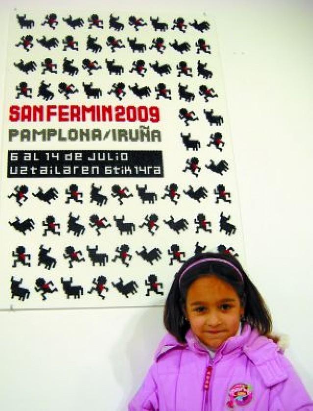 Un cartel de San Fermín de ocho gustos