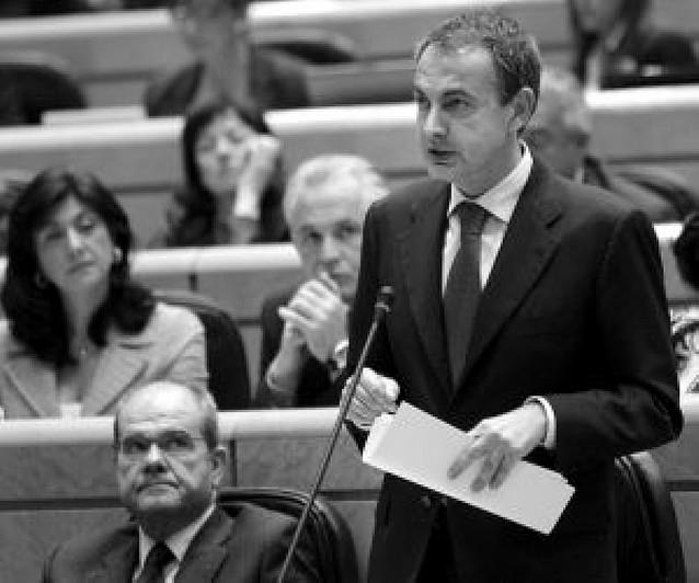 Zapatero busca apoyos parlamentarios ante el debate del estado de la Nación
