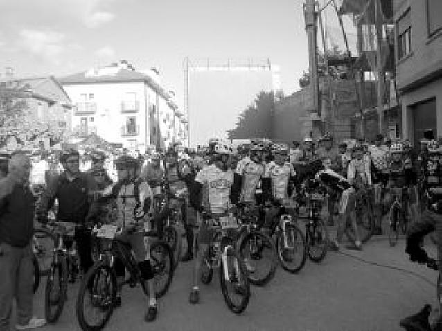 Lerín se estrena en las marchas ciclistas