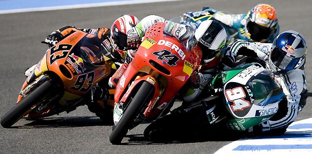 Smith gana en 125cc secundado por los españoles Sergio Gadea y Marc Márquez