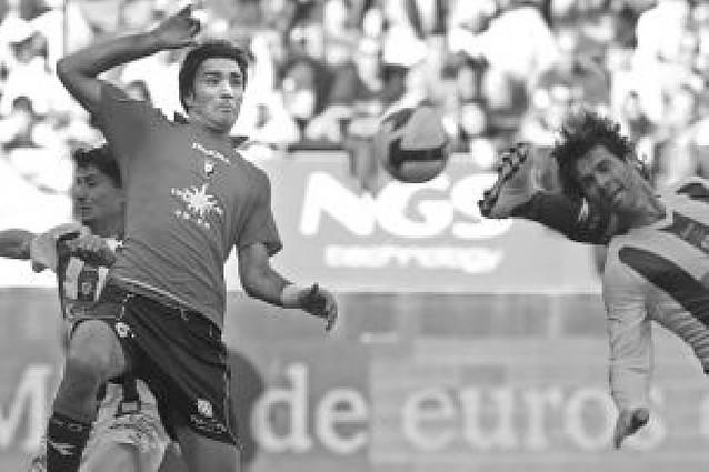 Ludovic Delporte podría sufrir una rotura fibrilar