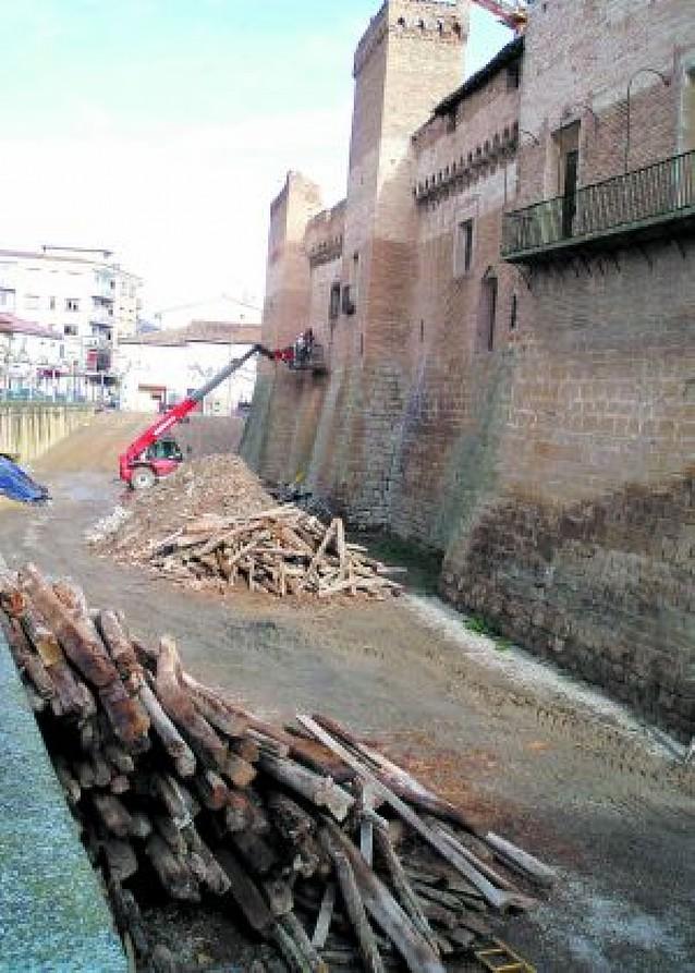 """Cultura advierte a Marcilla por posible """"incumplimiento"""" en el pago de las obras del castillo"""
