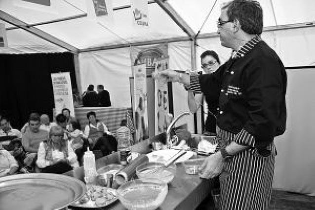 Los chefs de Tudela muestran sus secretos