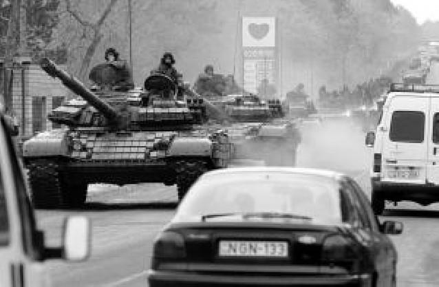 El presidente de Georgia sofoca un motín militar y acusa a Rusia de planearlo