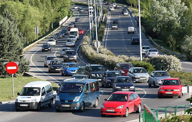 La nueva ordenanza permite ya circular a 70 km/h por algunos puntos de Pamplona