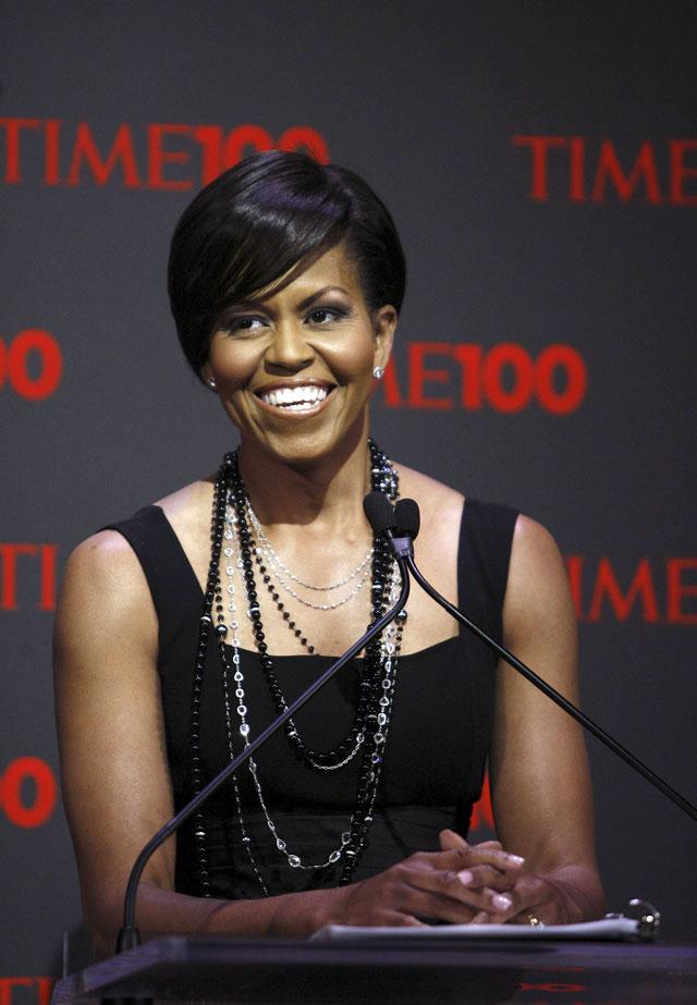 """Michelle Obama se une a la celebración de los """"100 más influyentes"""" de Time"""