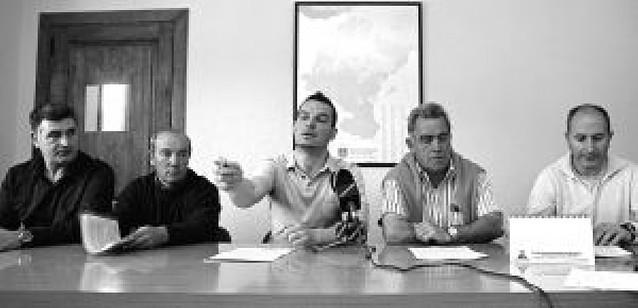 Cinco ayuntamientos de la zona se oponen a la subestación de Aberin