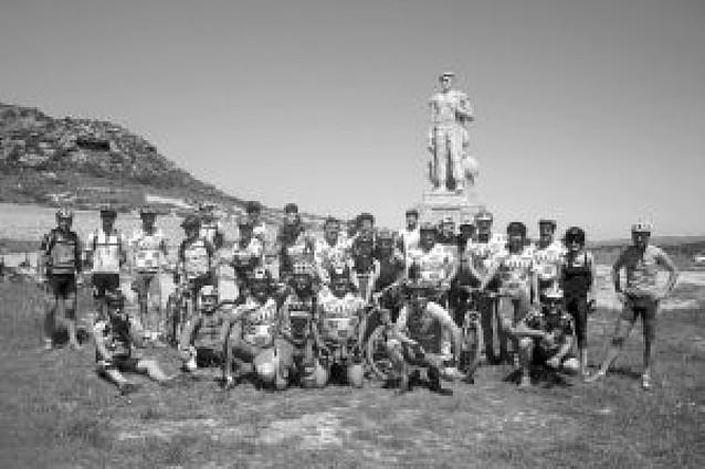 Marcha por la Cañada de los Roncaleses