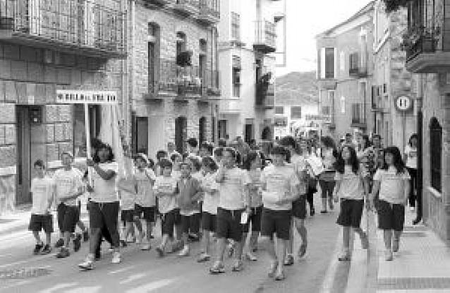 Medio millar de escolares compiten en Murillo el Fruto
