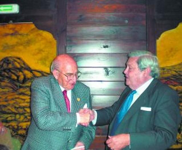 Manuel Sarobe Pueyo, miembro de Honor de la Academia Navarra de Gastronomía