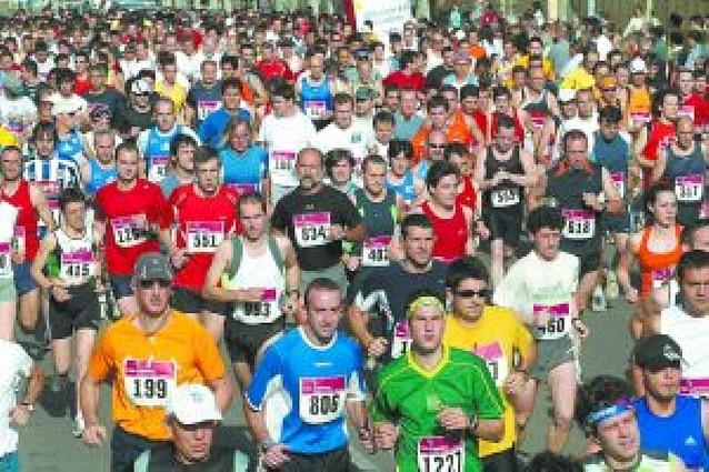 Maratón y cortes de calles