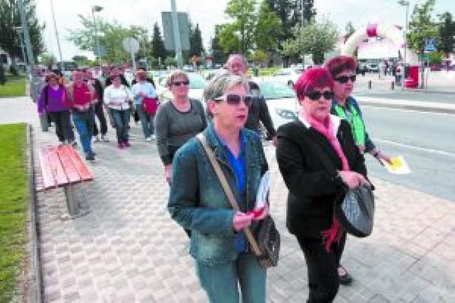 La marcha de la fibromialgia congregó a 500 personas