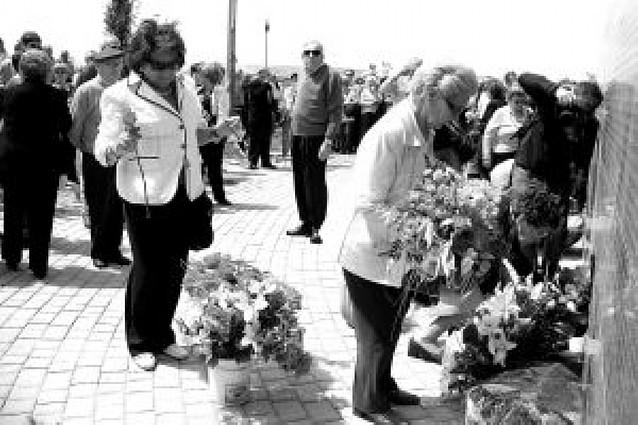 Sartaguda celebró el primer aniversario de la construcción del parque de la Memoria
