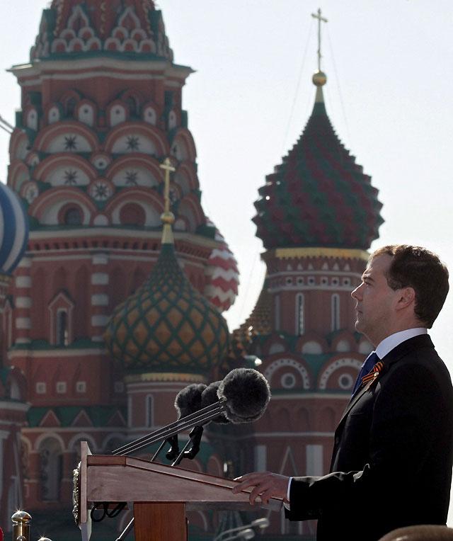 El mayor desfile militar en Moscú desde la caída de la URSS