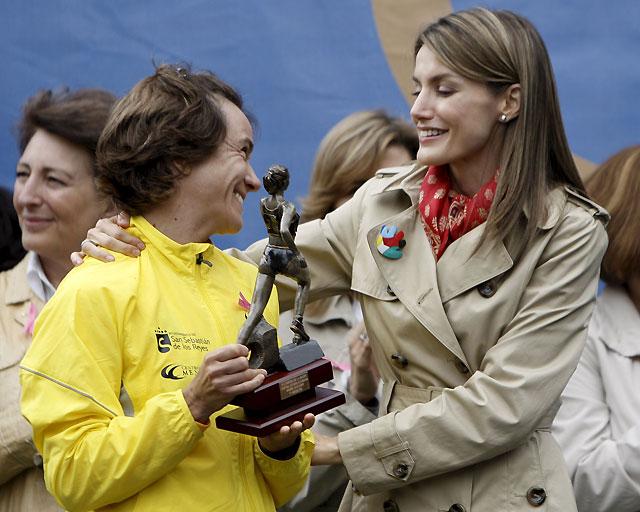 Ana Burgos gana la Carrera de la Mujer en Madrid