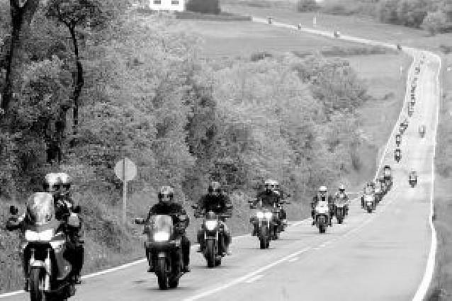 190 kilómetros en moto reivindicando seguridad