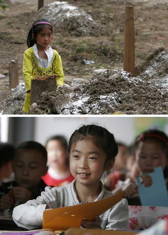 Yingxiu se rehace un año después del terremoto que causó 6.700 muertes