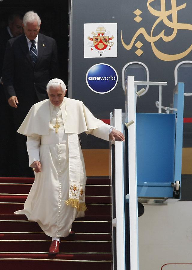 El Papa aboga por la creación de un estado palestino