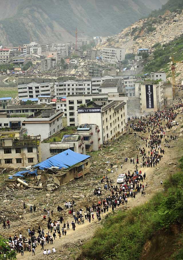China recuerda un año después el terremoto de Wenchuan