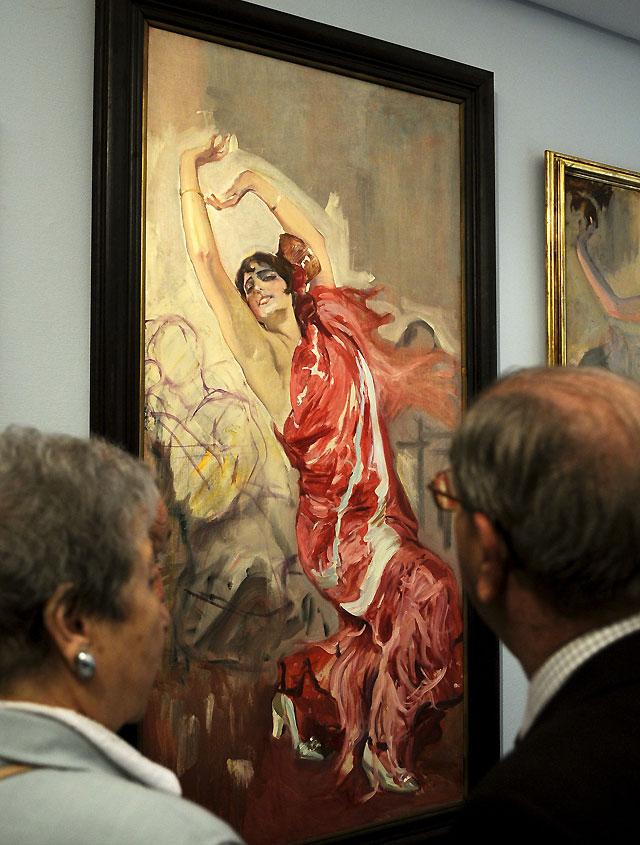Madrid acoge los cuadros de Sorolla con la visión que tenía el pintor de España