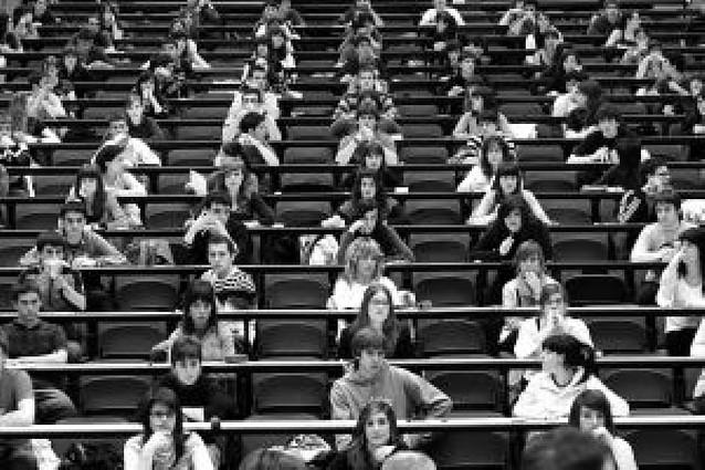 2.104 alumnos navarros se examinan a partir de mañana de la Selectividad