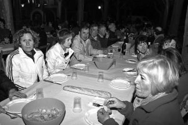 La peña osasunista de Monteagudo celebra su fiesta