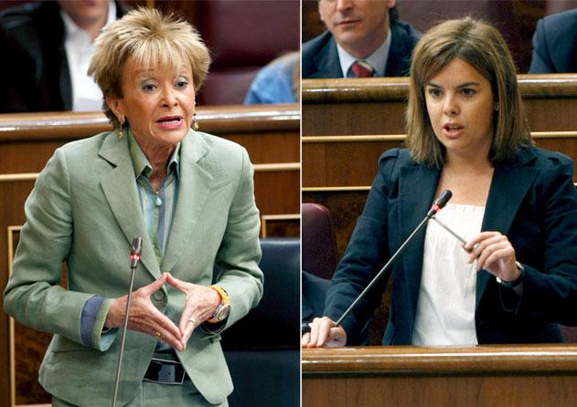 Los resultados electorales enfrentan a Saez de Santamaría y a De la Vega