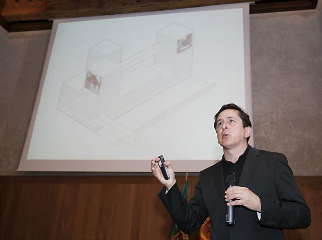"""Un """"castillo contemporáneo"""" albergará el Museo de los Sanfermines"""