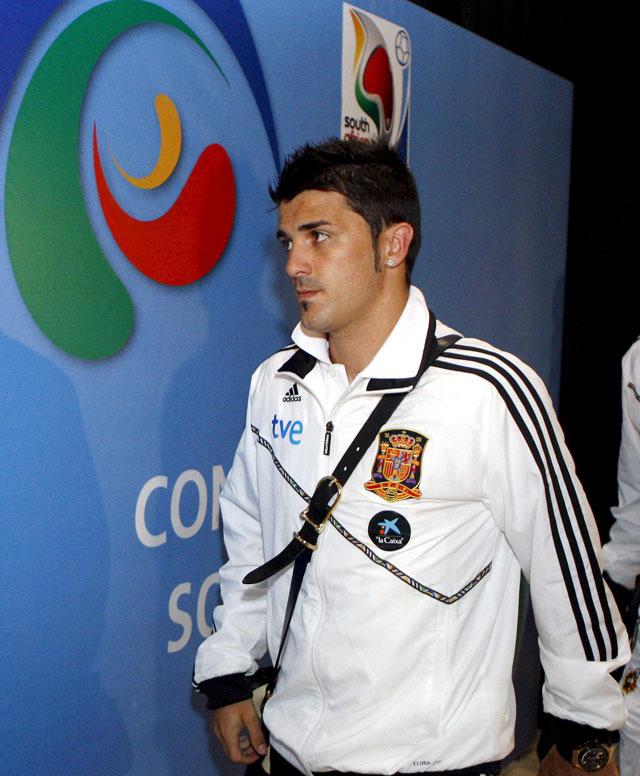 La selección española ya se encuentra en Sudáfrica