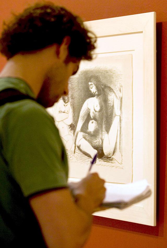 La Fundación Picasso revisa el desnudo en la obra del pintor