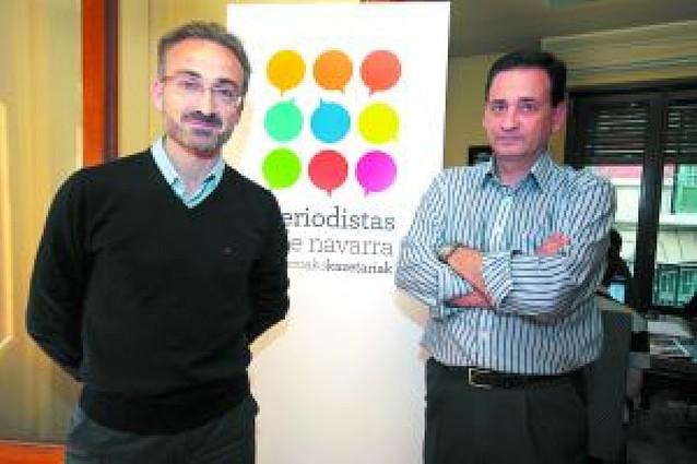 La Asociación de Periodistas de Navarra inicia los contactos para crear un colegio profesional