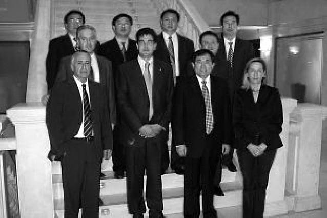 Una delegación de empresarios chinos realiza una visita a Tudela