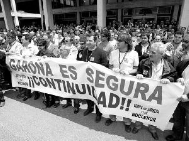 Zapatero da a entender ante los diputados que cerrará la central nuclear de Garoña
