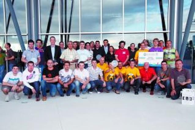 Los ganadores del Desafío 2009 recogieron sus premios