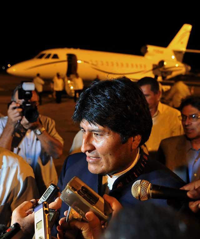 """Evo Morales visita a Fidel Castro y le encuentra """"muy lúcido y muy sabio"""""""