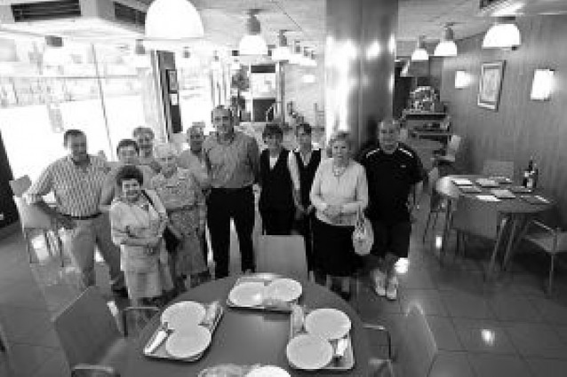 El club de jubilados de Barañáin estrena comedor