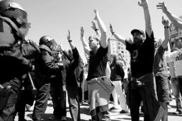 Miles de trabajadores del sector metalúrgico se manifestaron en Vigo