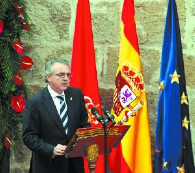 Sanz y López tendrán su primera cita institucional el próximo sábado en Pamplona