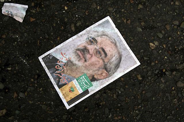 La oposición reformista cuestiona el aplastante triunfo de Ahmadineyad en las presidenciales