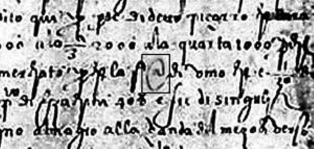 La @ más antigua, de 1536, reclamo turístico de Sevilla