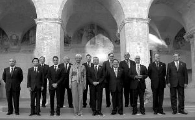 El G-8 ve signos de recuperación pero alerta del riesgo de repetir los errores del pasado